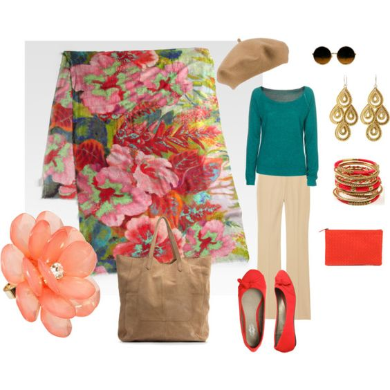My first Polyvore attempt. What a neat website!!!!