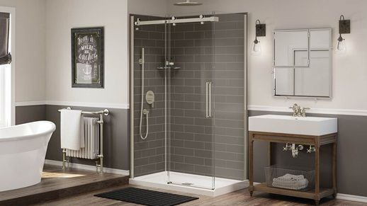 Maax Is A Leading North American Manufacturer Of Bathroom Products Bathtubs Showers Showers Bases Doors And M Maax Shower Wall Paneling Shower Wall Panels