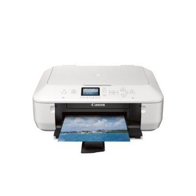 Impressoras Canon PIXMA MG5520 Wireless All-In-One Color Photo Printer with Scanner, Copier and Auto Duplex Printing, White #Impressoras #Canon