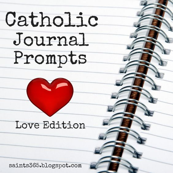 Association Of Catholic Women Bloggers: Catholic Journal Prompts: A New Series From Saints...