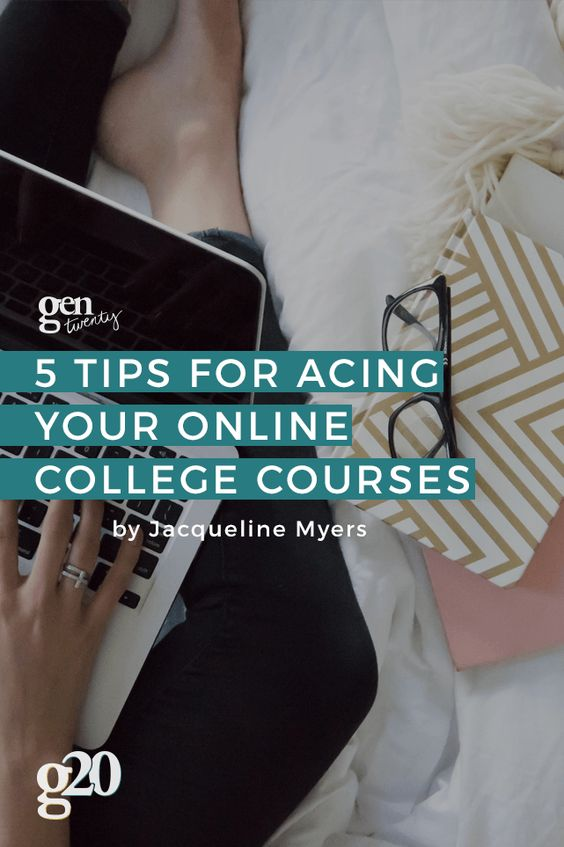 Taking an online college course to save time? Ace it with these 5 tips from a current online college course instructor! Click through for the secrets.