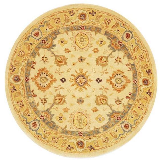 Dynasty Ivory/Gold Area Rug