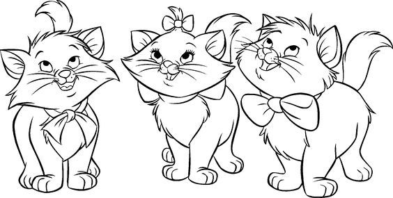 Aristocats Coloring Pages Best Coloring Pages For Kids Cat Coloring Page Cat Printable Cartoon Coloring Pages