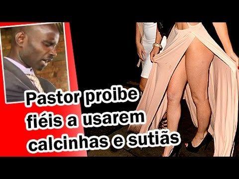 Assista o vídeo : Pastor fala para mulheres não usar calcinha nem sutiã. - http://jornalprime.com/pastor-fala-para-fieis-nao-nao-usar-calcinha-nem-sutia/: