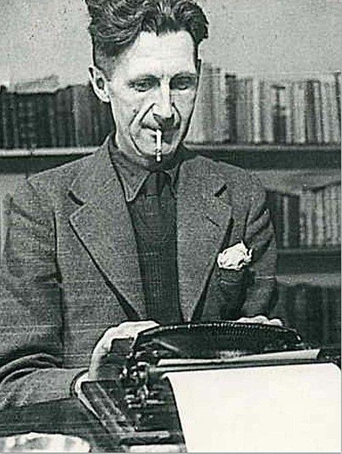 George Orwell, pseudoniem voor Eric Arthur Blair (Motihari (India), 25 juni 1903 – Londen, 21 januari 1950) was een Brits schrijver, journalist, essayist en literair criticus.