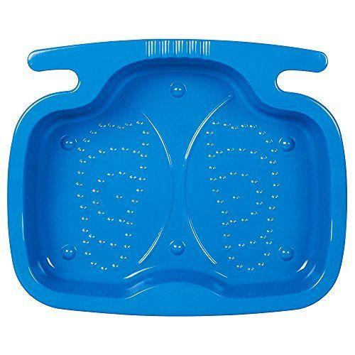 Intex 06412 Bac Pédiluve Bleu: Ce bac est stable et sécurisant avec sa surface antidérapante. Utile pour se rincer les pieds avant votre…
