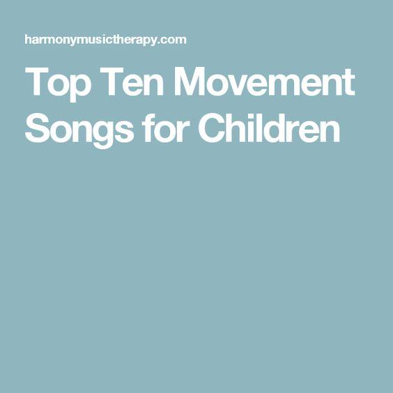 Top Ten Movement Songs for Children