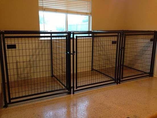 Puppycratesandkennels Dog Kennel Inside Puppy Kennel Indoor