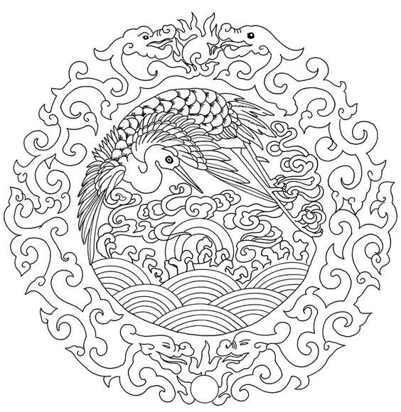 Chinese a lovely embroidery it would make art - Mandala dragon ...
