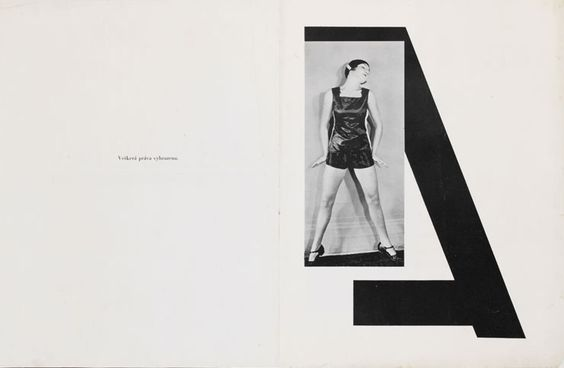 KAREL TEIGE, ABECEDA ALPHABET BOOK 1926: in collaboration between poet vitezslav nezval and choreographer milcha mayerova. and graphic designer teige teige teige.