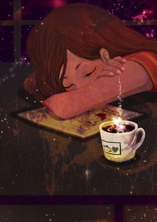 Lectura y sueños (Ilustración de Noir_Song)