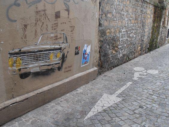 Street art, Butte aux cailles 13ème