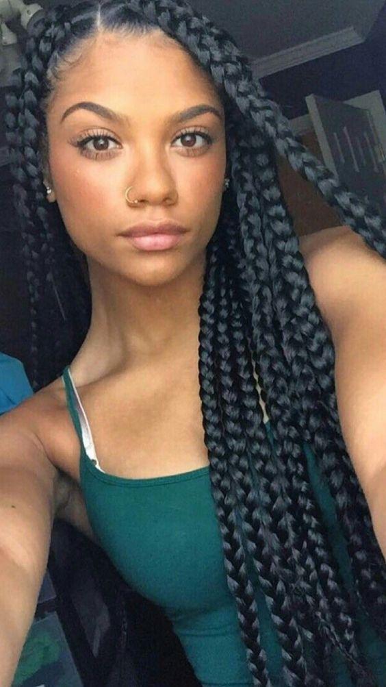 Pinterest Kekedanae20 Black Girl Braids Best Braid Styles Long Hair Styles