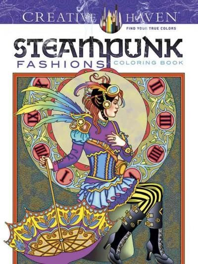 <div><p>Based on fashions from steampunk literature, these 31 original designs combine Victorian-era clothing with goggles, clocks, and other technological accessories. The illustrations' intricacy and post-apocalyptic air offer mature colorists creati...