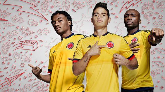 adidas Presentó Camiseta de la Selección para la Copa América 2015