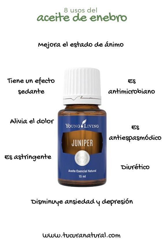 usos del aceite esencial de enebro