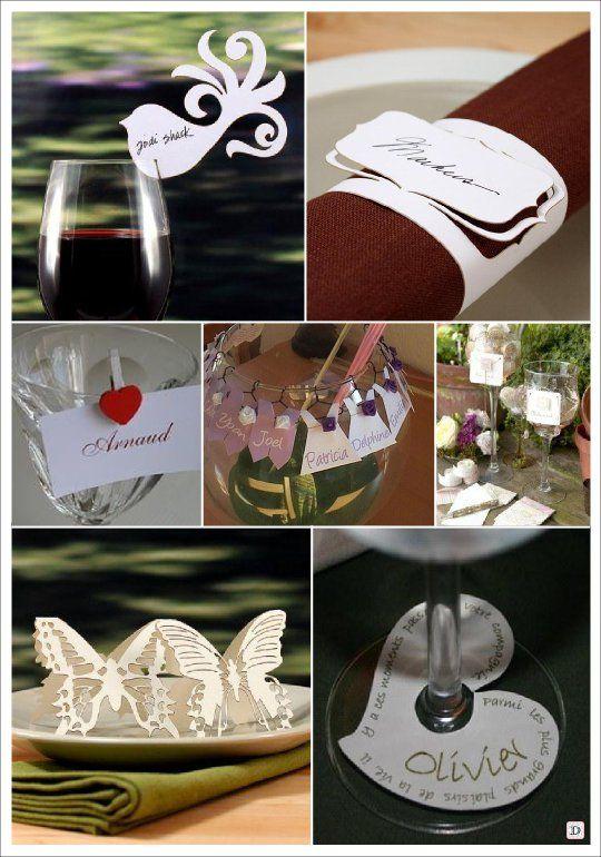 marque place mariage dentelle papier decoupe papier wedding ideas pinterest marque place. Black Bedroom Furniture Sets. Home Design Ideas