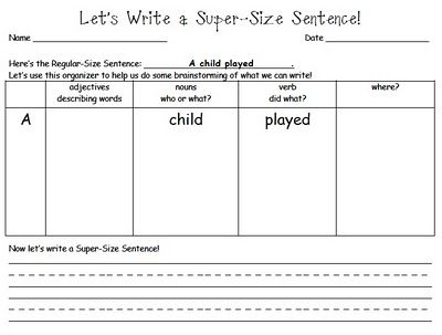 sentences..love this!: Idea, Complex Sentence, Student, Writing Sentence, Simple Sentence, Super Sentence, Sized Sentence, 2Nd Grade