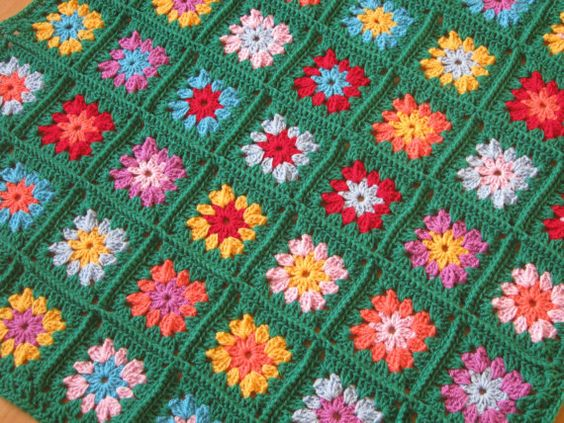 Crochet Pattern Vintage Style Ruby Retro or by Thesunroomuk