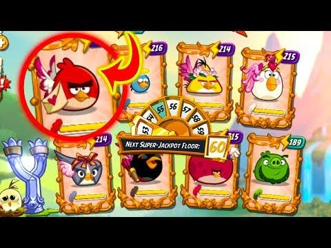 Angry Birds 2 New Hats Tower Of Fortune Next Super Jackpot Floor 60 Ga In 2020 Birds 2 Jackpot Angry Birds