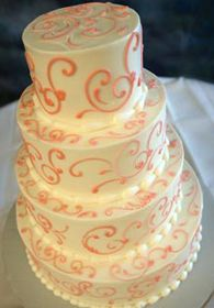 L'Amour bredenbeck wedding cake design