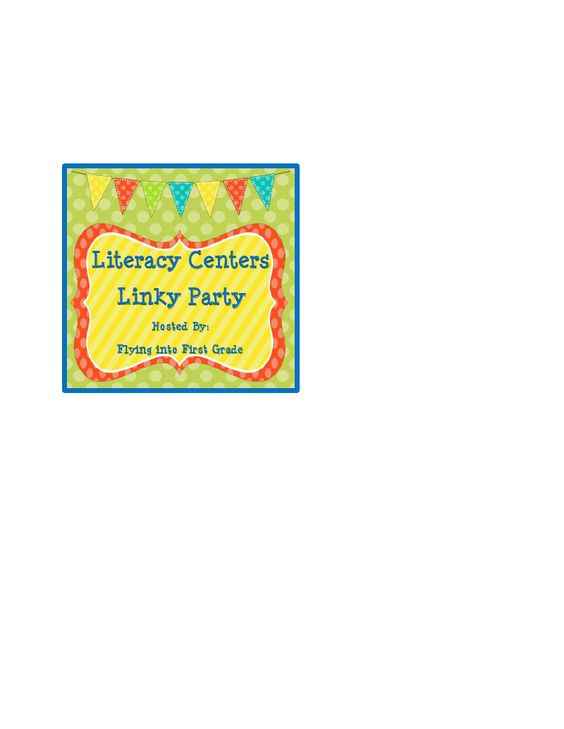 Literacy Centers Linky Party