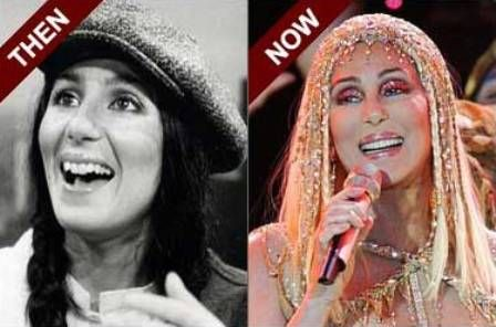 Stars Then And Now Cher Then Amp Now Pinterest Then