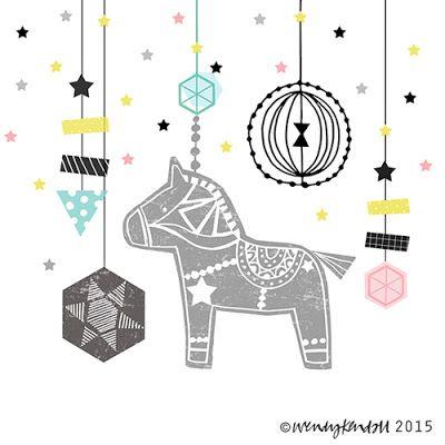print & pattern: XMAS 2015 - wendy kendall: