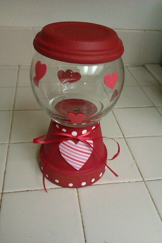 """Valentine """"Gumball Machine"""""""