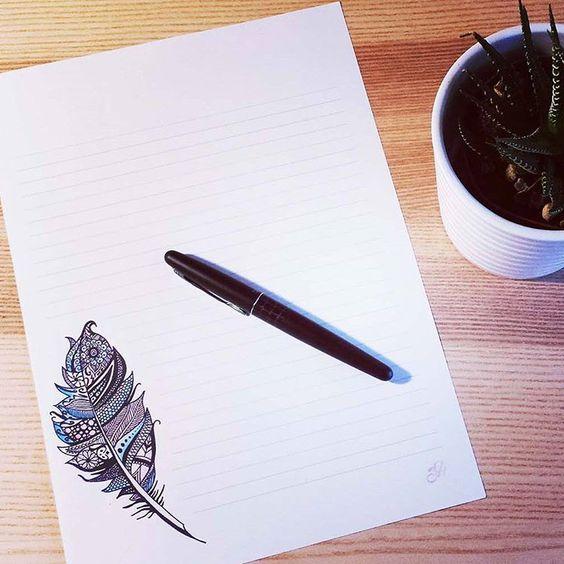 Papier à lettre à télécharger ! #zentangle #papieralettres