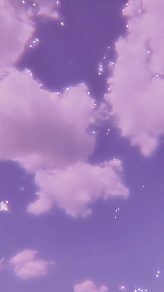 Aesthetic Sky Taken By Jess And Edited By Me Glittery Wallpaper Purple Wallpaper Iphone Aesthetic Iphone Wallpaper