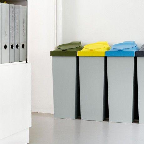 Authentics TOP 20L Abfallsystem in verschiedenen Farben