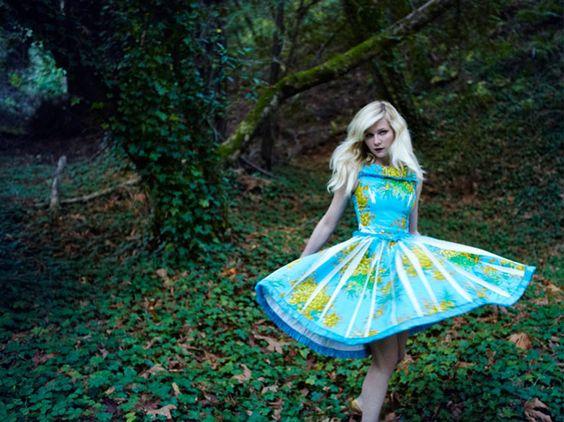 Kirsten Dunst en Vogue Italia. Mi foto favorita de todas!