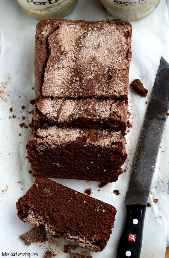 Gâteau au chocolat et à la cannelle Starbucks.