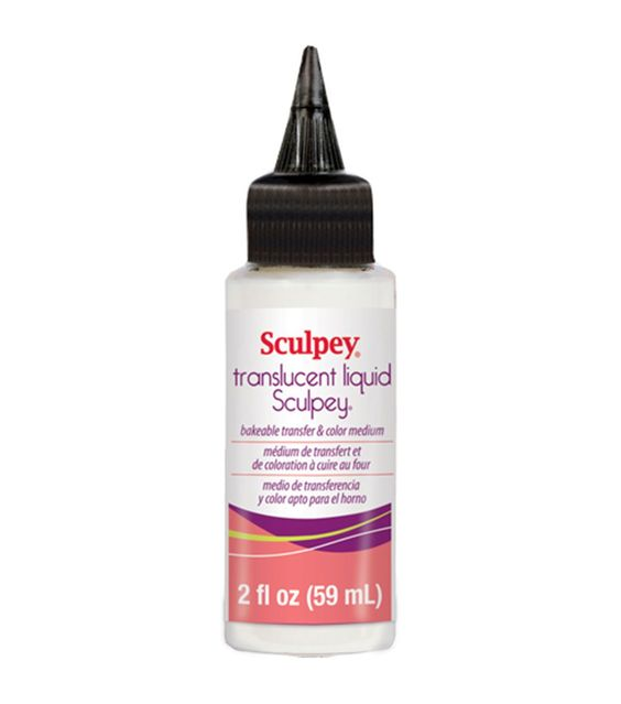 Sculpey Transparent Liquid-2 Ounces