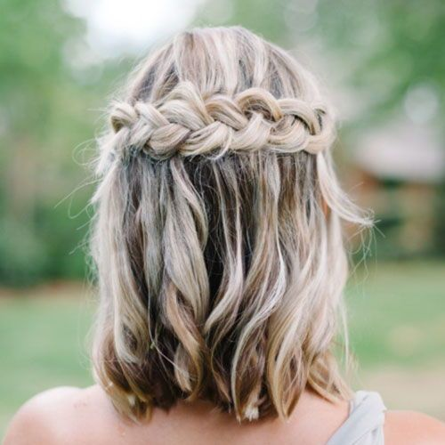 50 Perfect Bridesmaid Hairstyles For Your Wedding Party 2020 Guide In 2020 Prom Hairstyles For Short Hair Hair Styles Formal Hairstyles For Long Hair