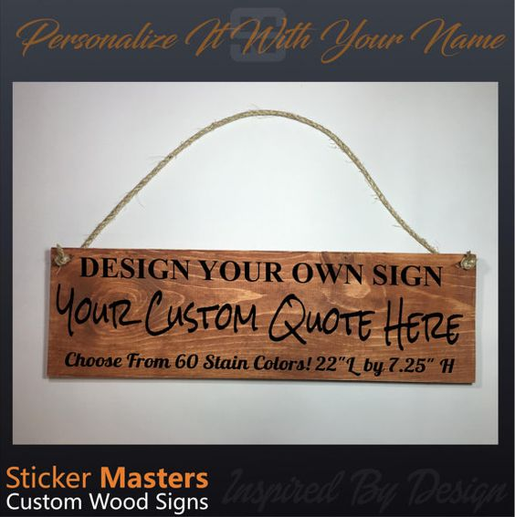 ON SALE Wood Sign, Garden Sign, Personalized Wood Sign, Custom Name Wooden  Sign
