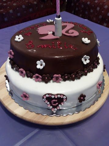 For Emilie... Barbie Birthday Cake