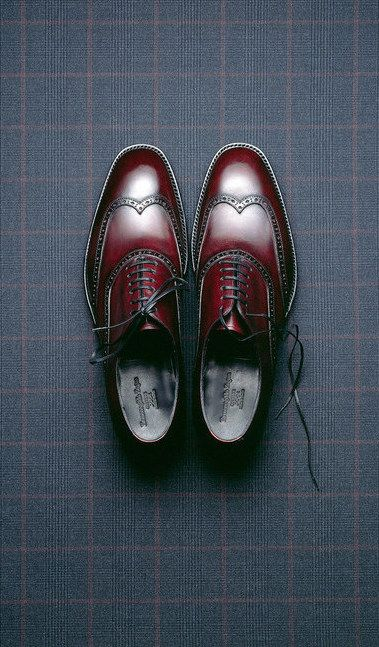 Ermenegildo Zegna shoes, photography by Mitchell Feinberg.