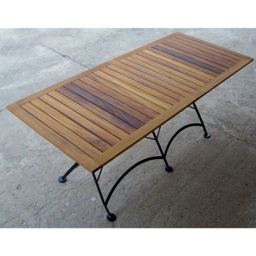 """European Café 32"""" x 72"""" Folding Table by Furniture Designhouse. $2017.40. Table length 32"""". Collection: French Bistro European Cafe Furniture. Table width: 71"""". Furniture Designhouse item # 4116T. Table height: 29"""". 4116T Features: -Folding Table. -Using a thicker gage steel and specific design elements that offer additional stability and strength, while adding minimally to weight. -Plastic 'shoes' (the covers on the end of the legs) protect the ''''feet'''' of th..."""
