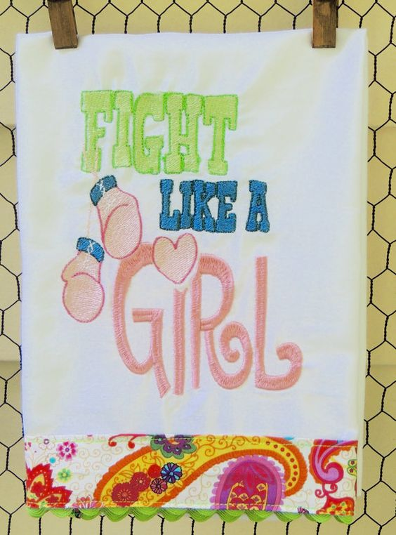 Fight Like A Girl by seechriscreate on Etsy
