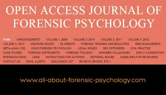 Forensic Psychology what is a major
