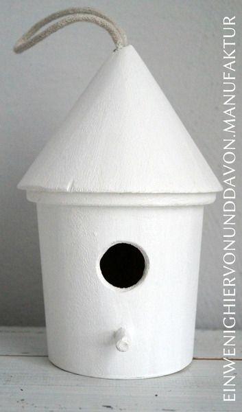 Vogelhaus Cleanchic von Ein wenig hiervon & davon auf DaWanda.com
