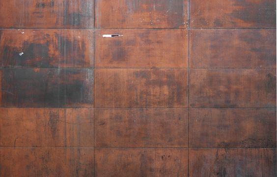 Texture on pinterest - Acero corten ...