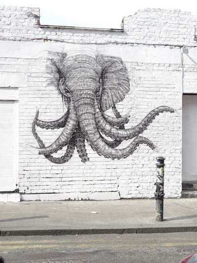 Tattoo Idea/Elephant Squid, doesn't get much better