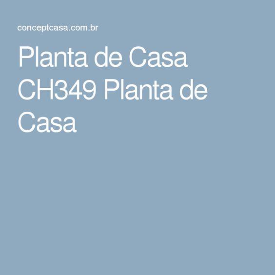 Planta de Casa CH349 Planta de Casa