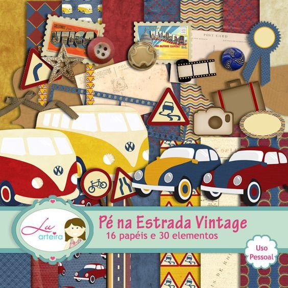 Collab Pe Na Estrada Vintage by Lu Ifanger e Vika Matos