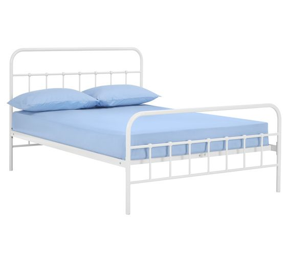 Willow Double Bed - Fantastic Furniture $299 - in White, Black or Teal
