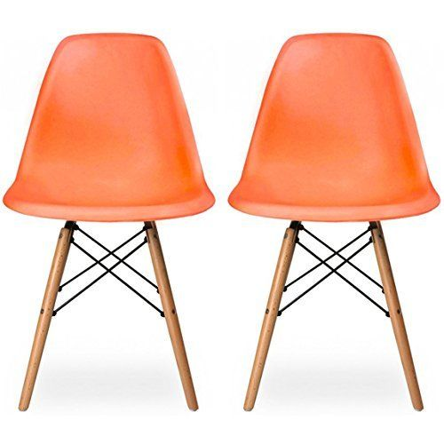 Dining room chairs light browns and eames on pinterest for Dining chairs for less