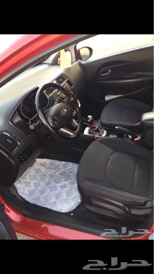حراج السيارات سيارة كيا ريو هاتش باك 2014 Steering Wheel Car Vehicles